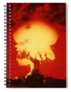 Nuclear Explosion Spiral Notebook