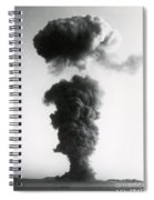 Nuclear Test Site Spiral Notebook
