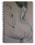 Nude Dancer Spiral Notebook