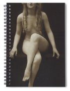 Nude Girl 1915 Spiral Notebook