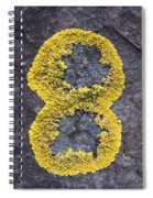 Number 8 Spiral Notebook