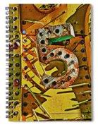 Number Five Spiral Notebook