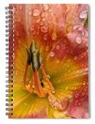 Nursery School Daylily Spiral Notebook