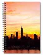 Ny Saturday Sunrise Spiral Notebook