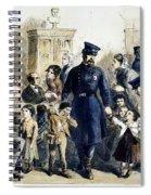 Ny Slum Children, 1864 Spiral Notebook