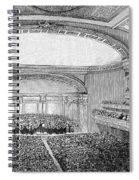 Nyc: Carnegie Hall, 1891 Spiral Notebook