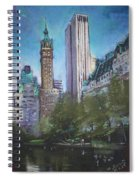 Nyc Central Park 2 Spiral Notebook