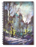 Nyc Central Park Controluce Spiral Notebook
