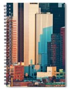 Nyc Colors And Lines II Spiral Notebook