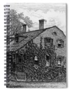 Nyc: Farmhouse, 1698 Spiral Notebook