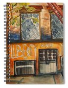 Nyc Graffiti Spiral Notebook