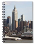 Nyc In The Afternoon Spiral Notebook