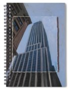 Nyc Severe Empire Layered Spiral Notebook