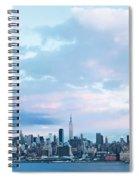 Nyc-sundown Blue I Spiral Notebook