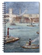 Nyc: The Battery, 1884 Spiral Notebook