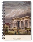 Nyc: The Tombs, 1850 Spiral Notebook