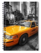 Nyc Yellow Cab Spiral Notebook
