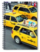 Nyc Yellow Cabs Spiral Notebook
