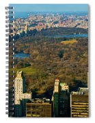 Nyc's Uber Park Spiral Notebook