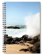 Oahu North Shore Breaker Spiral Notebook