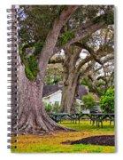 Oak Alley Backyard Spiral Notebook