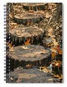 Oak Creek Steps Spiral Notebook