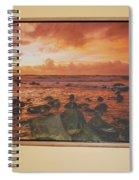 Oak Floater Frame Spiral Notebook