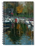 Oakville Harbour On Spiral Notebook