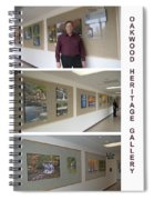 Oakwood Heritage Gallery Exhibit Spiral Notebook