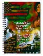 Obama Vs. Cornel Spiral Notebook