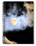 Obscured By Clouds Spiral Notebook