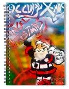 Occupy Christmas Spiral Notebook