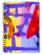 Occupy Graffiti Love Spiral Notebook
