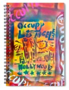 Occupy Hollywood Spiral Notebook