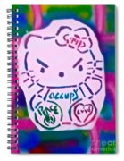 Occupy Kitty Spiral Notebook