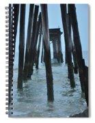 Ocean City 59th Street Pier Spiral Notebook