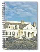 Ocean Drive Mansion Ri Spiral Notebook