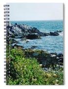 Ocean Drive Newport Ri Spiral Notebook