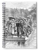 Ocean Grove Ferry, 1878 Spiral Notebook
