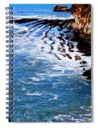 Ocean Lines Spiral Notebook