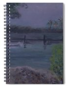 Ocean Reef Park Rainy Day Spiral Notebook