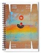 Ocean Swell Spiral Notebook