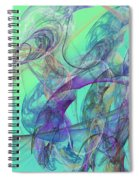 Ocean Symphony II Spiral Notebook