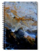 Shell Beach Ocean Tunnel Spiral Notebook