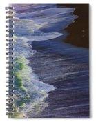 Ocean Waves Spiral Notebook