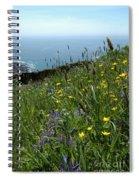 Ocean Wildflowers Spiral Notebook