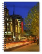 Oconnell Street Bridge, Dublin, Co Spiral Notebook