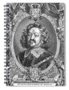 Octavio Piccolomini Spiral Notebook