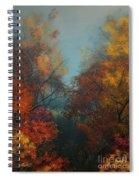 October Spiral Notebook
