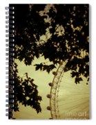 October Mist Spiral Notebook